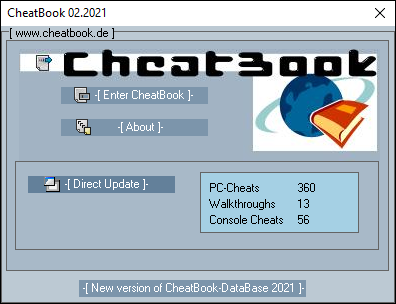 Cheatbook Screenshots - Cheatbook (02/2021) - Issue February 2021, Cheats, Hints, Walkthroughs and Console Cheats