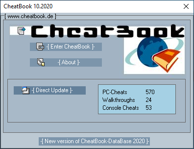Cheatbook Screenshots - Cheatbook (10/2020) - Issue October 2020, Cheats, Hints, Walkthroughs and Console Cheats