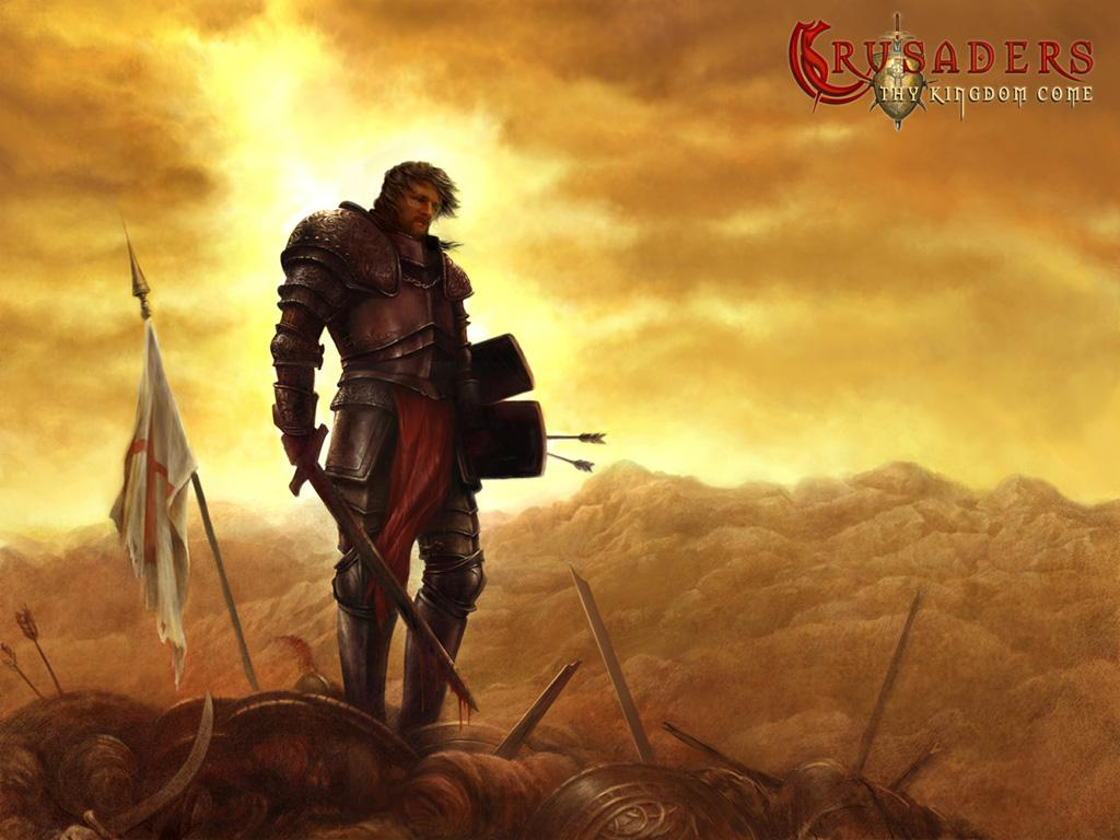 Crusaders  Thy Kingdom Come - Game Wallpapers - GamesChristian Crusaders Wallpaper
