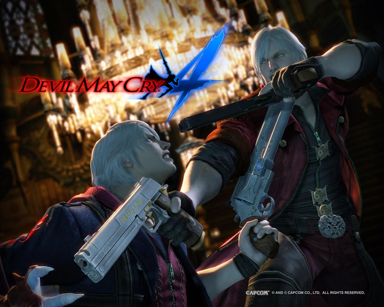 devil may cry 4 wallpaper - nero and dante : devilmaycry
