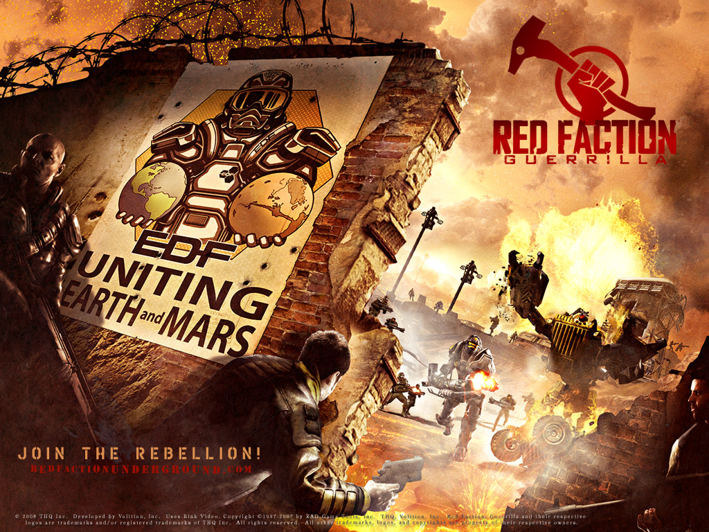 Red Faction: Guerrilla  Wallpapers 3