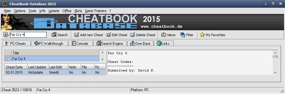 Cheatbook 2014 Pdf